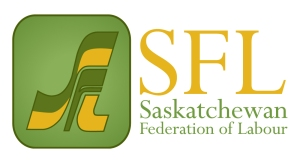 sask fed of labour logo redesign