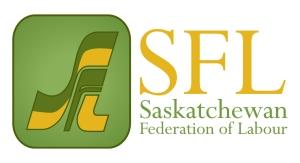 sask fed of labour logo redesign